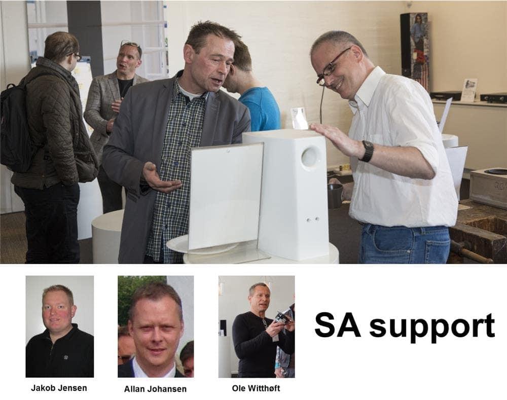SA-ondersteuning